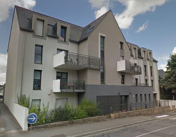 Appartement récent avec terrasse, rez-de-chaussée, Vitré 2 pièce(s)